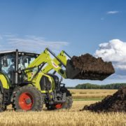 Der CLAAS ARION 600/ 500